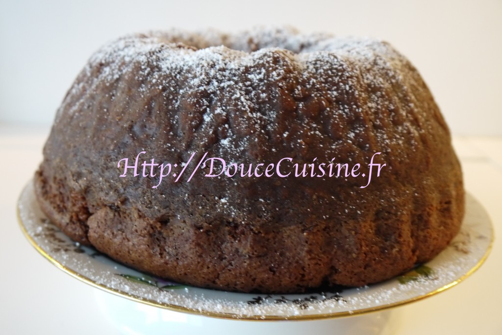 Gâteau au nutella sans oeuf