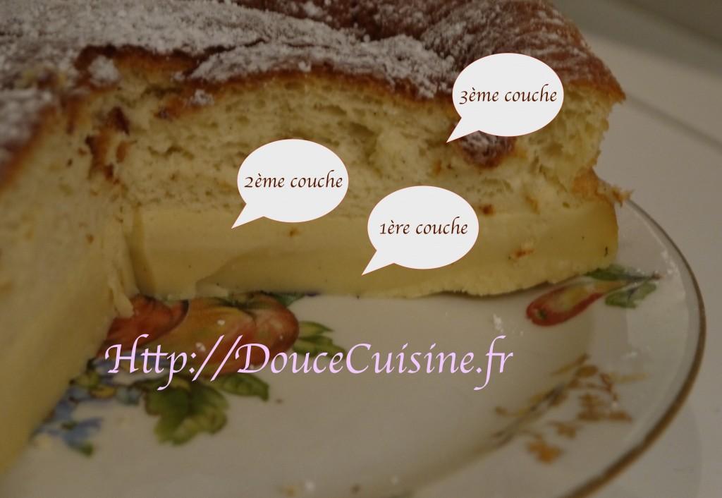 Gâteau magique à la vanille