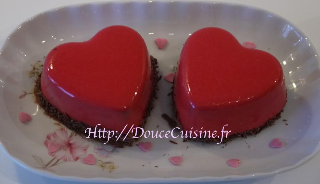 Bavarois chocolat framboise imane le meilleur p tissier for Glacage miroir rose