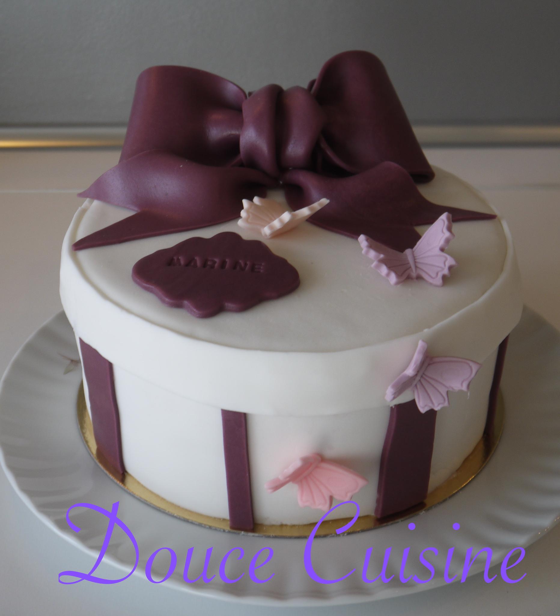 Rainbow cake Douce Cuisine