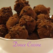 Truffes Rhum raisins