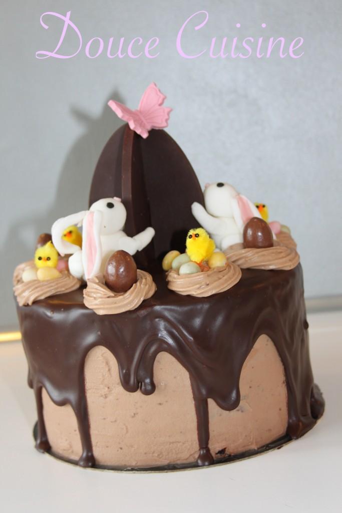 Layer cake kinder pour p ques douce cuisine - Gateau deco kinder ...