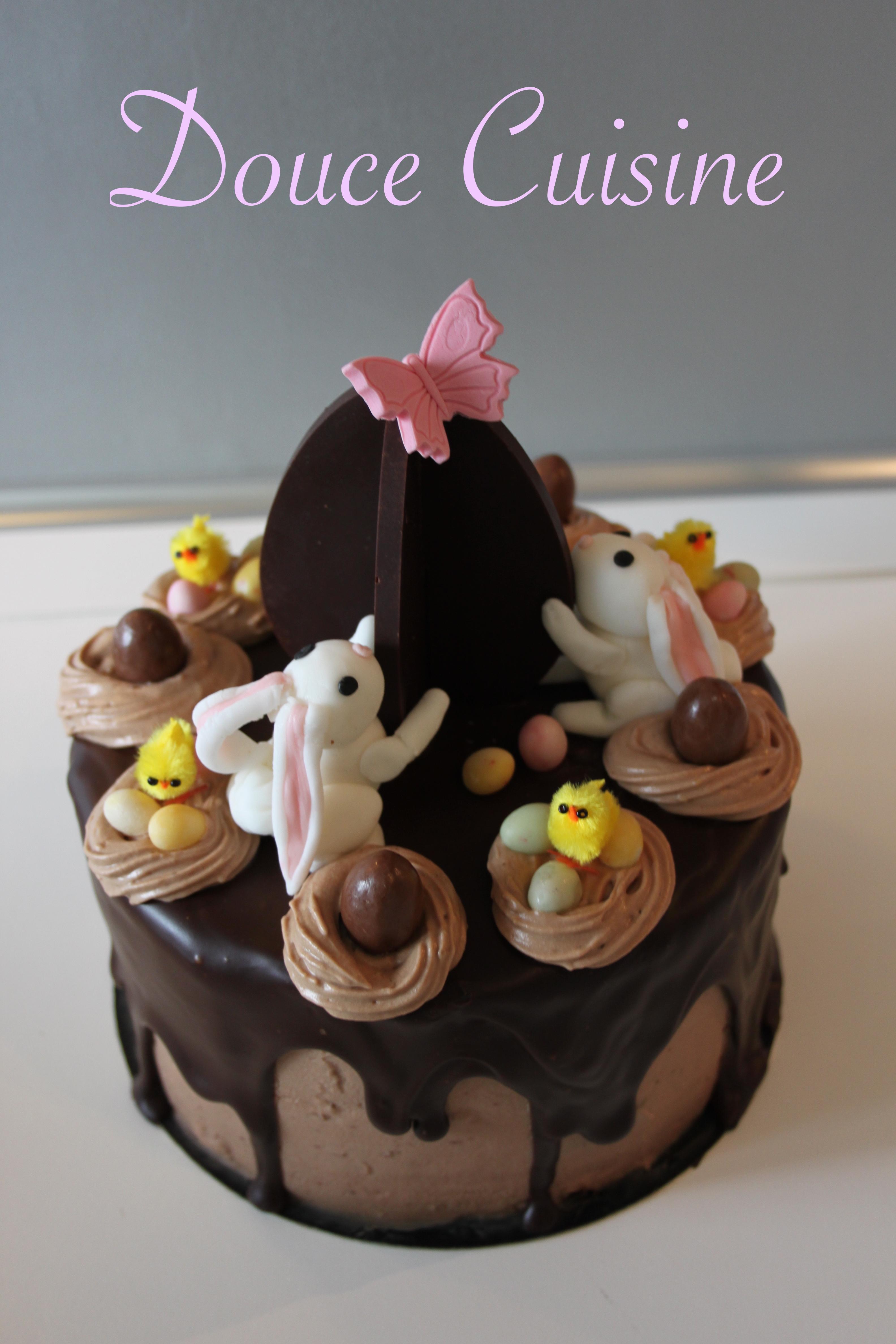 Layer Cake Ganache Schoko Bons