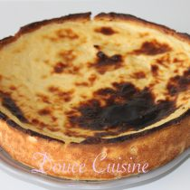 Le Flan Pâtissier épais et crémeux