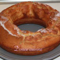 Gâteau à la fleur d'oranger